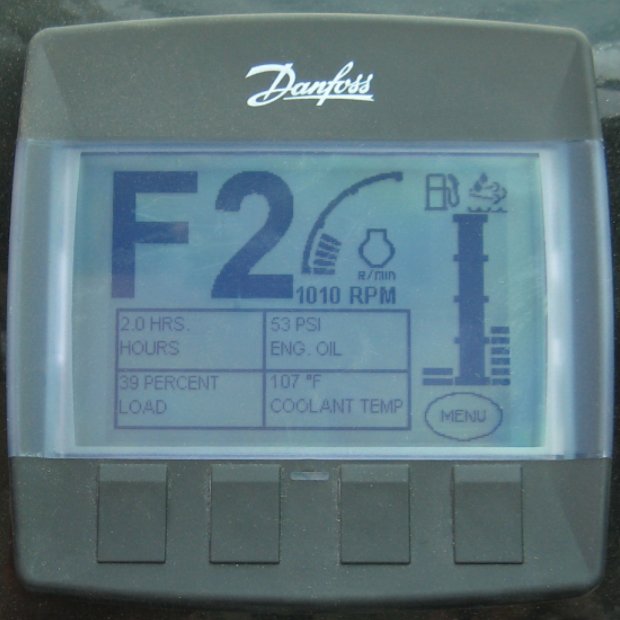 LCD Message Center